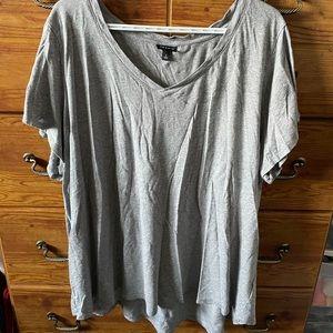 NWOT - Grey Torrid T-Shirt